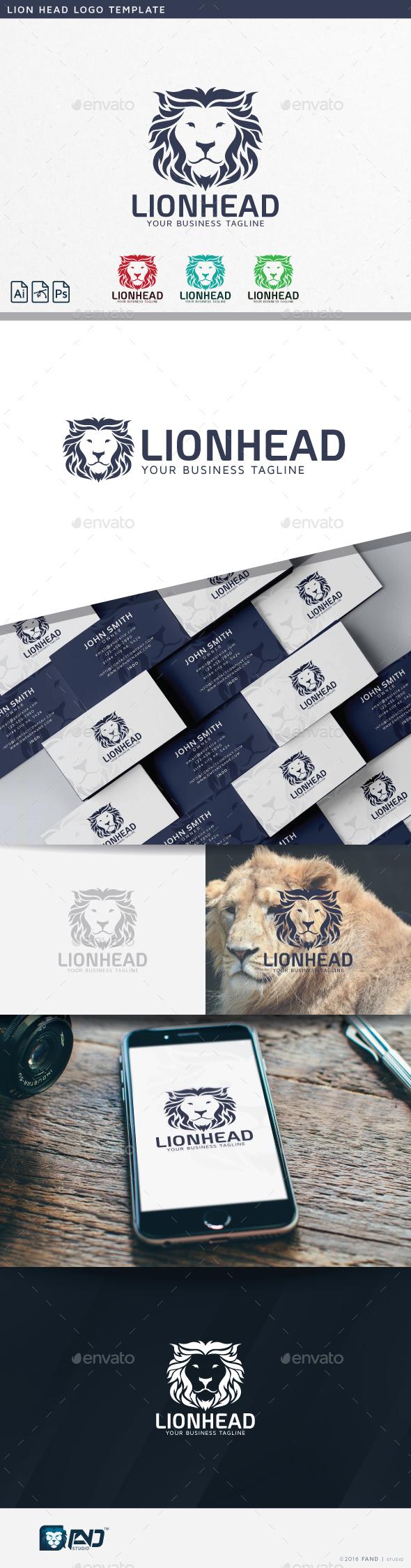 Lion Head - Symbols Logo Templates