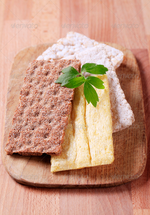 Variety of crispbread - Stock Photo - Images