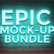 EPIC MOCK-UP BUNDLE - GraphicRiver Item for Sale