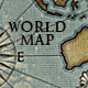 World Map; Vintage Style Artistic - GraphicRiver Item for Sale