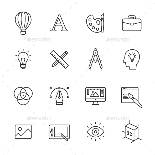 Design Line Icons - Icons