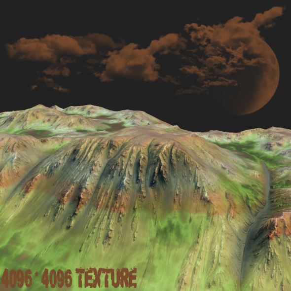 Terrain - 3DOcean Item for Sale