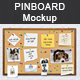 Pinboard Mockup - GraphicRiver Item for Sale