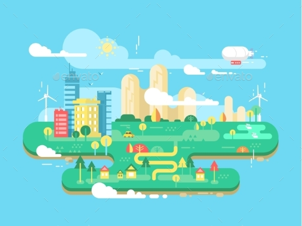 Green City Flat - Miscellaneous Conceptual