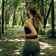 The Girl Runs in The Park - VideoHive Item for Sale