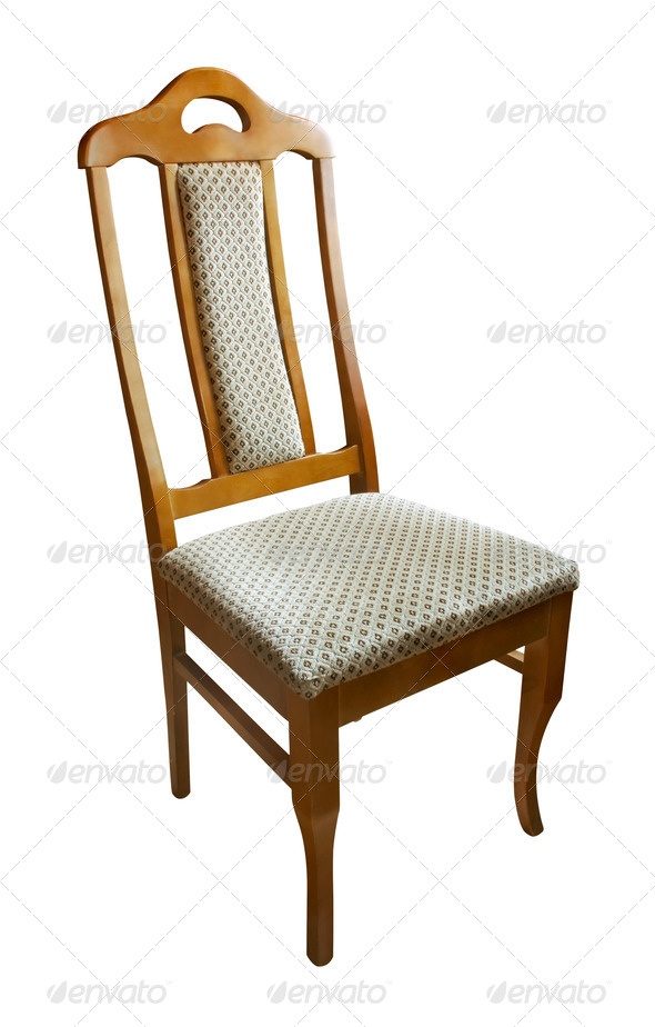 Wooden chair - Stock Photo - Images