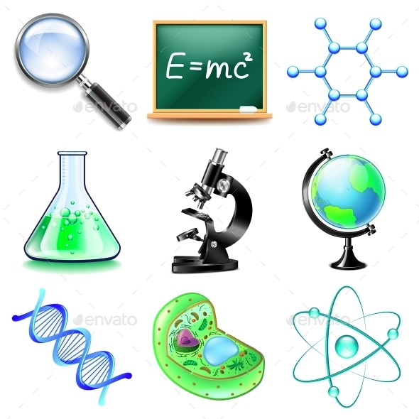 Science Icons Vector Set - Miscellaneous Vectors