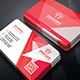 Classic Corporate Business Card Template 8 - GraphicRiver Item for Sale