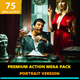 Premium Portrait Mega Action Set - GraphicRiver Item for Sale