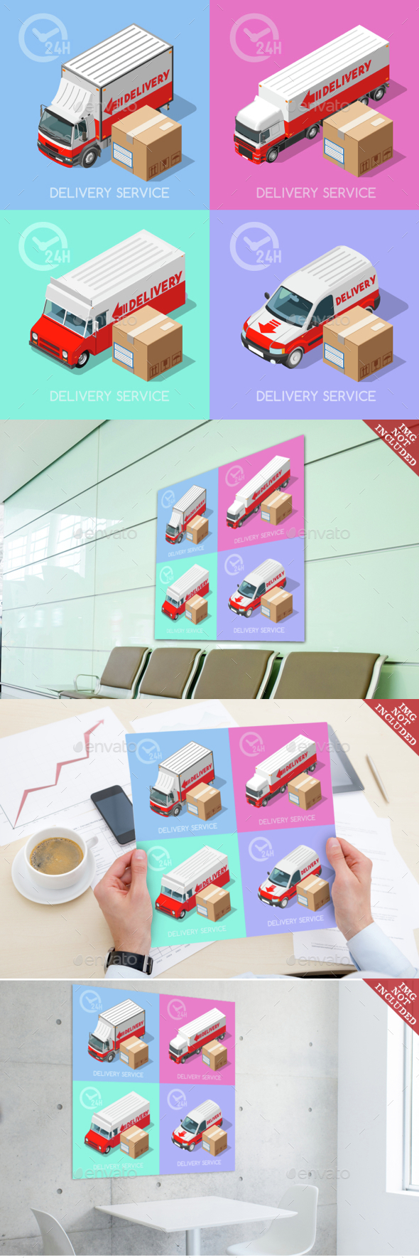 Delivery 07 Infographic Isometric - Health/Medicine Conceptual