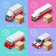 Delivery 07 Infographic Isometric - GraphicRiver Item for Sale