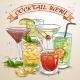 New Era Drinks Coctail Menu - GraphicRiver Item for Sale