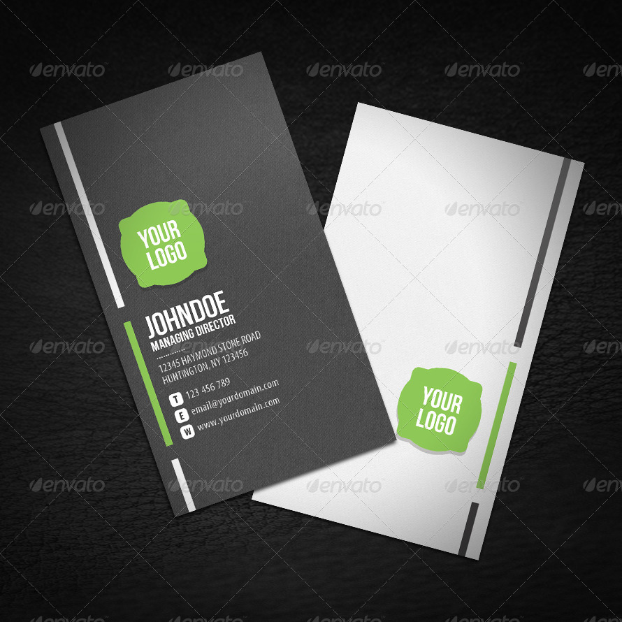 Neat Corporate Business Card by glenngoh | GraphicRiver
