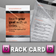Private bank Rack Card Template - GraphicRiver Item for Sale