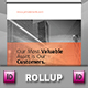 Private bank Roll-up Banner Template - GraphicRiver Item for Sale