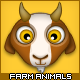 Farm Animal Icons - GraphicRiver Item for Sale