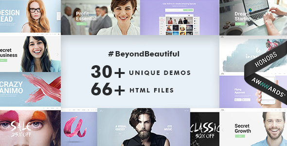 Animo | Responsive Multi-Purpose HTML Template