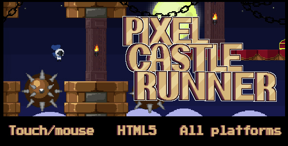 Pixel Castle Runner - CodeCanyon Item for Sale