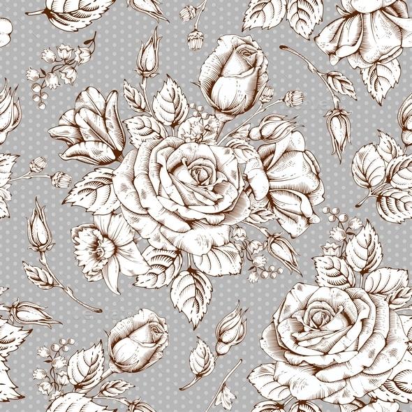 Luxury Rose - Backgrounds Decorative