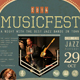 Musical Event Poster & Ticket - GraphicRiver Item for Sale