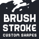Brush Stroke Shapes - GraphicRiver Item for Sale