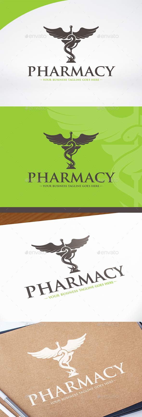 Pharmacy Logo Template - Vector Abstract