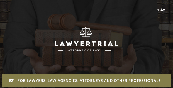 Lawyer Trial – WP Theme for Lawyers, Attorneys and Professionals with Appointment System