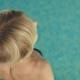 Slim Blonde In The Swimming Pool  - VideoHive Item for Sale