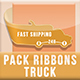 Pack Ribbons Truck - GraphicRiver Item for Sale