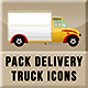 Pack Delivery Trucks Icons - GraphicRiver Item for Sale
