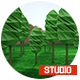 Low Poly render studio vray for CINEMA 4D