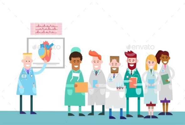 Medical Doctors Group Intern Lecture - Health/Medicine Conceptual