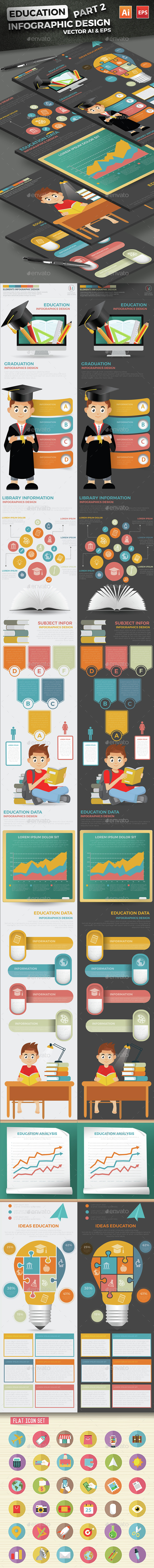 Education Infographics Design Part 2 - Infographics