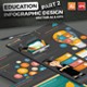 Education Infographics Design Part 2 - GraphicRiver Item for Sale
