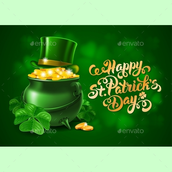 Saint Patricks Day Greeting Design - Miscellaneous Seasons/Holidays