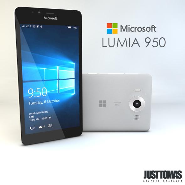 Microsoft Lumia 950 - 3DOcean Item for Sale