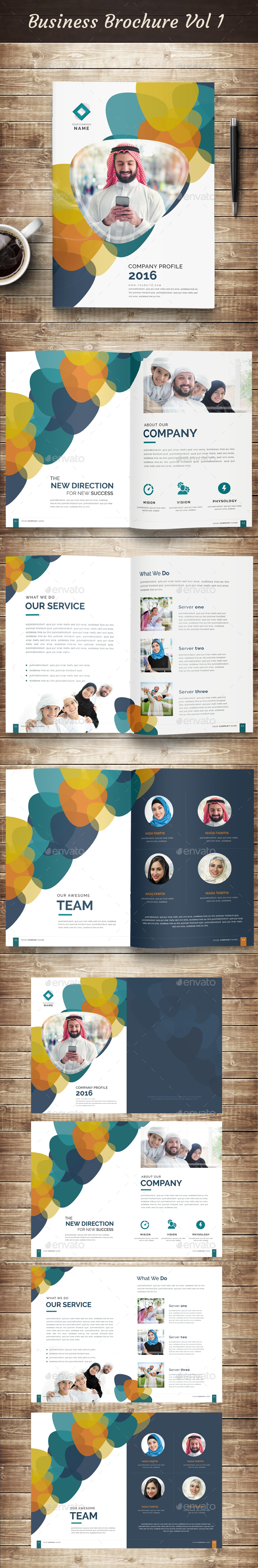 Business Brochure vol 1  - Corporate Brochures