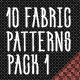 10 Fabric Patterns Pack 1 - GraphicRiver Item for Sale