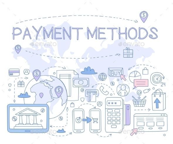 Payment Methods Infographic - Web Technology