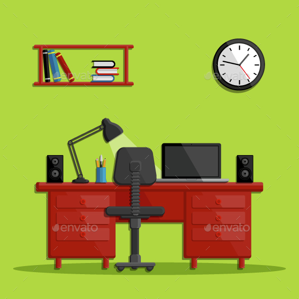 Modern Business Office Workspace - Concepts Business