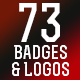 73 Badges and Logos - GraphicRiver Item for Sale