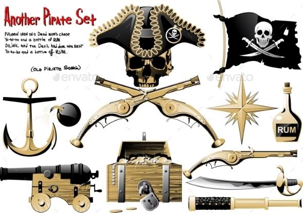 Pirate Set - Decorative Symbols Decorative