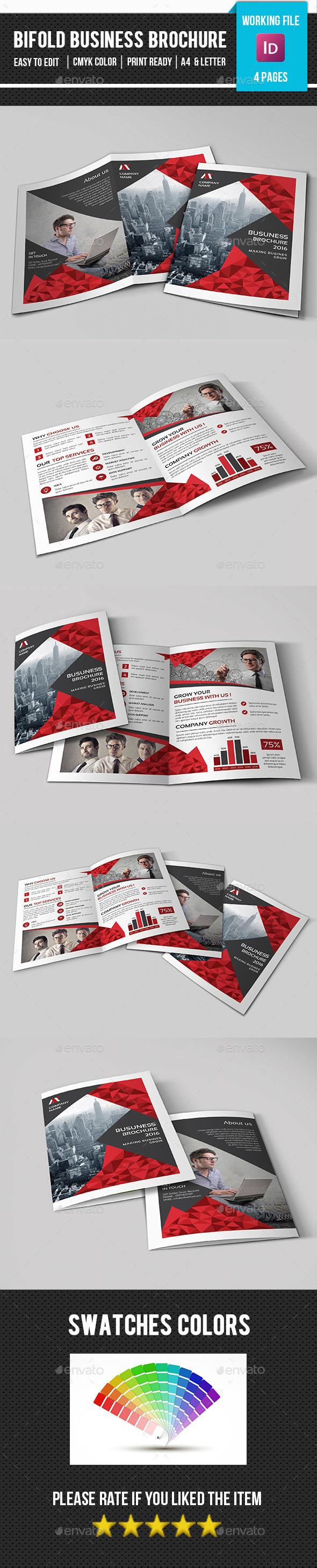 Creative Corporate Bifold Brochure-V361 - Corporate Brochures