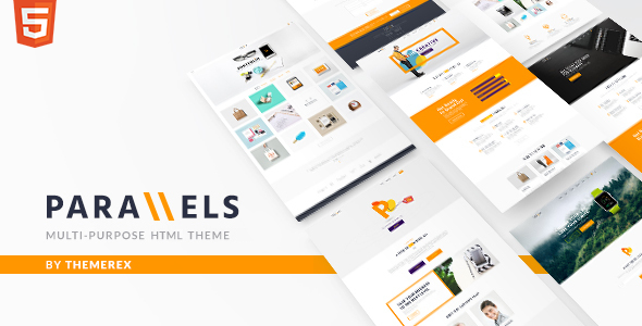 Parallels – Multipurpose Site Template