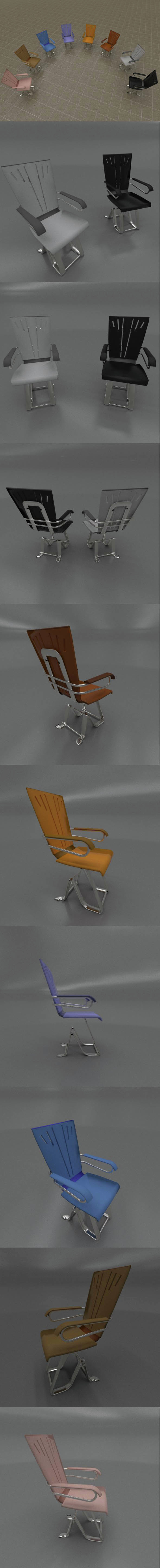 CHAIR modern design - 3DOcean Item for Sale