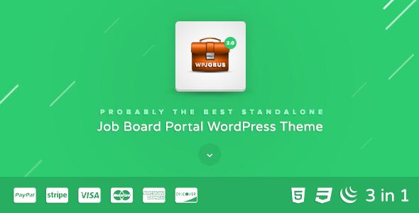 20+ Best WordPress Job Board Themes to Build Job Websites 2019 6