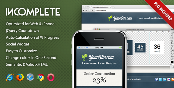 Free Download Incomplete Under Construction Page Nulled Latest Version