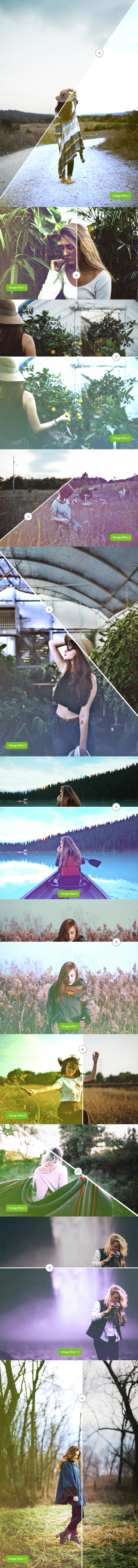 Vintage Soft Effect - Photo Effects Actions