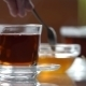 Transparent Cup Of Tea On The Table - VideoHive Item for Sale