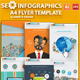 Digital SEO Infographic Elements Design